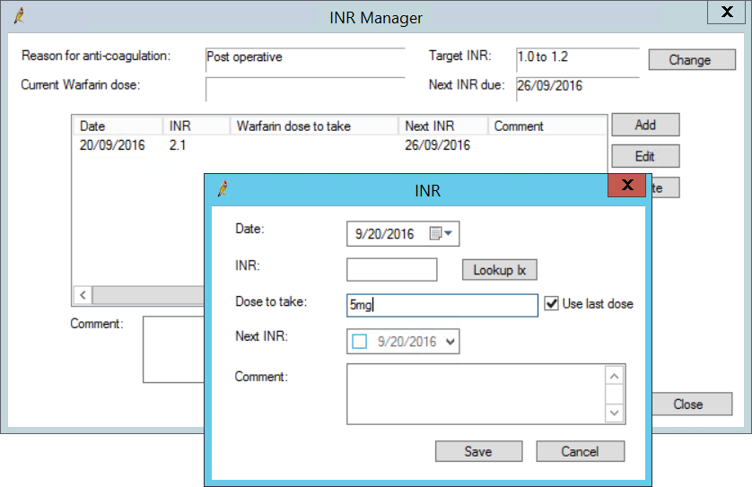 INR Manager
