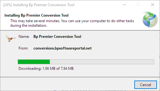 Download the conversion utility