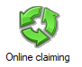 Online claiming icon