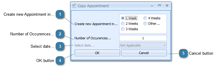 Copy an Appointment