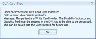 Topic: MOC - DVA Details